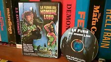 La Furia del Hombre Lobo - Paul Naschy Werewolf Never Sleeps. Spanish horror.