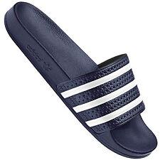 e0c29c313 adidas Adilette Unisex Slide Navy White Shoes 10 UK