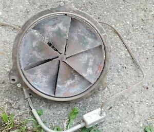 "Vintage ILG Industrial Electric Ventilating Self Cooled Motor Exhaust Fan 16"""