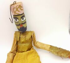 Antique Wooden carved Marionette Puppet