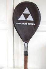 Vintage FISCHER Tennis Racket Alluminium AUSTRIA 1980`s