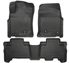 Husky Liners 2013-2017 Toyota 4Runner Weatherbeater Front Rear Floor Mats Black
