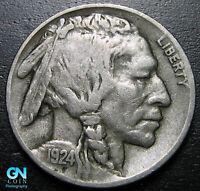 1924 D Buffalo Nickel  --  MAKE US AN OFFER!  #P6621