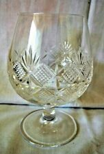 Edinburgh Crystal Brandy Balloon, Glass, Etched Base