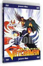 DVD TECNO NINJA GATCHAMAN OAV 1-3 Yamato Video 2000 Anime TECHNO GATCHMAN RARO