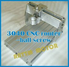 CNC 3040Z Customized Engraving Machine Frame Drilling Milling Machine 52mm clamp