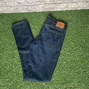 PS Paul Smith Slim Fit Crosshatch Stretch Denim Jeans 32 Waist size 32L Skinny