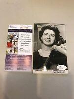 Vintage 1960's Charlotte Harris Lawrence Welk Signed Autographed Photo JSA COA