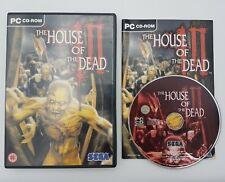 The House of the Dead III (3) - PC CD-ROM - SEGA - RARE - Free, Fast P&P!