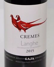 Cremes Gaja 2015 - Langhe DOC - vino rosso piemontese