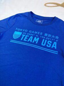 Team USA 2020 Summer Olympics Latitude Bright & Shiny T-Shirt (Youth S, 8)