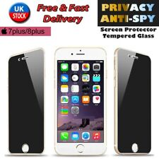 Anti-Spy PRIVACY TEMPERED GLASS Screen Protector Cover for Apple iPhone 7/8 Plus