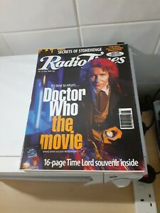 Radio Times 25-31 May 1996 Doctor Who EX