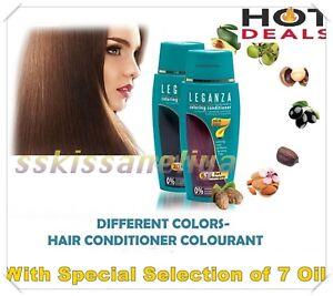 Leganza Coloring Hair Conditioners Toner, NO Ammonia, 16 Shades, NO Peroxide