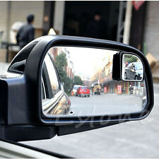2Pcs Adjustable Rear View Side Rearview Blind Spot Auxiliary Mirror For Auto Car
