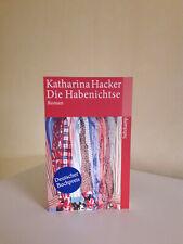 Die Habenichtse von Katharina Hacker (Deutscher Buchpreis)