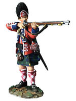 BRITAINS AMERICAN REVOLUTIONARY WAR 16050 BRITISH 42ND ROYAL HIGHLAND FIRING MIB