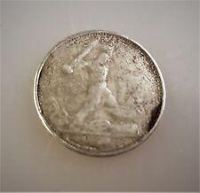 50 Kopeken Münze Russland Poltinnik Silber