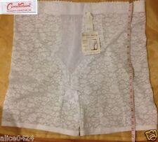 Instant Shaping Plusform  7X,8X Girdle White Floral Hi Waist Long Leg 769