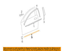 Chevrolet GM OEM 08-12 Malibu FRONT DOOR-Body Side Molding Right 22760569