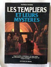 LES TEMPLIERS ET LEURS MYSTERES 1992 PATRICK RIVIERE