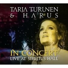 "TARJA TURUNEN ""IN CONCERT:LIVE AT SIBELIUS HALL"" CD NEU"
