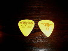 Motley Crue Tommy Lee Feelgood Gold Yellow Guitar Pick