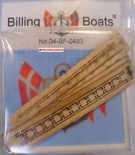 Billing boats Accesorio BF-0483 - 5 X 5 Mm x 50 mm Latón 12 peldaños Escaleras - 1st Post