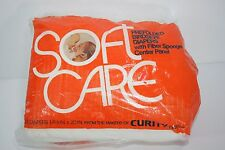 VTG Soft Care Birdseye Baby Cloth Diapers 12 Curity 14.5 x 20 in Prefolded