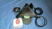 Polycom SoundStation IP 6000 IP6000 + Power Supply + Microphone. Fast Delivery