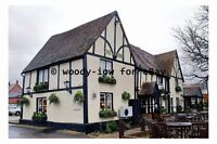 pt9961 - The Crown Pub , Henlow , Bedfordshire in 2007 - photograph