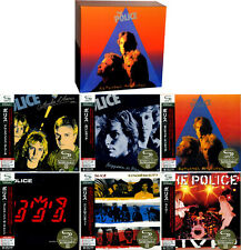 "Police ""ZENYATTA MONDATTA"" JAPAN MINI LP 7 SHM-CD (6 titles) BOX Sting"