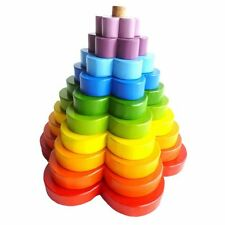 NEW QToys Stacking Flower Toy