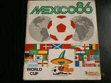 "Panini Album WM Mexico 86 komplett World-Cup Mexico 1986 TOP RARITÄT "" selten """