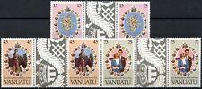 Vanuatu 1981 Royal Wedding, Princess Diana MNH Gutter Pairs Set #E13954