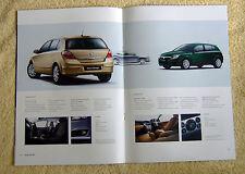 Vauxhall Astra Mk5 Range 2004 Models inc SRi, SXi, Elite, Design, Club ect
