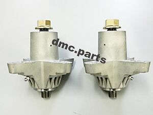 """2 x MTD & CUB CADET SPINDLE ASSEMBLY 38"""" & 42"""" DECK SPINDLES 618-0142 618-0138"""