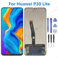 For Huawei P30 Lite LCD Display Digitizer Touch Screen Replacement Black ARUS