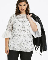 Joanna Hope All Over Sequin Blouse size 24