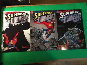 Superman Doomsday Wars #1,2 and #3 (DC Comics 1998) *High Grade copies.