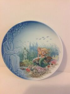 HANS CHRISTIAN ANDERSEN BING & GRONDAHL PLATE THE LITTLE MERMAID