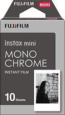 New Fuji Fujifilm instax mini Monochrome Instant Photo Black and White Film