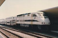 LOS ANGELES Train PHOTO Color FREE SHIPPING Original Snapshot METROLINK 811 1 S