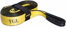 "3"" X 20' Recovery/Tow Strap  30,000 LB Capacity W Looped Ends Winch ATV TGL"