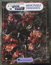 Ez Play Today #33 Memorable Standards Music Sheet Book Organ/Piano/Keyboard Vtg