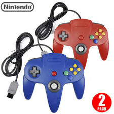 2pc N64 Controller Joystick Gamepad Wired for Classic Nintendo 64Console Games M