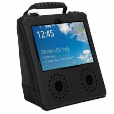 Portable Protect Cover Bag Protector Leather Carry Case For Amazon Echo Show