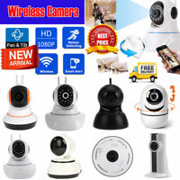1080p Two Way Wireless Wifi IP CCTV Camera Systerm Night Vision Baby Monitor Lot