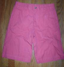Vineyard Vines Boys Dressy Shorts size 14 Pink 100% Cotton Very Cute