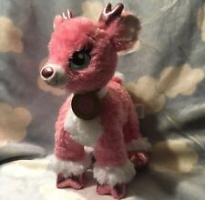 """Build A Bear Workshop Twinkle """" The Sparkle Pink Plush Supersonic Reindeer 14�"""